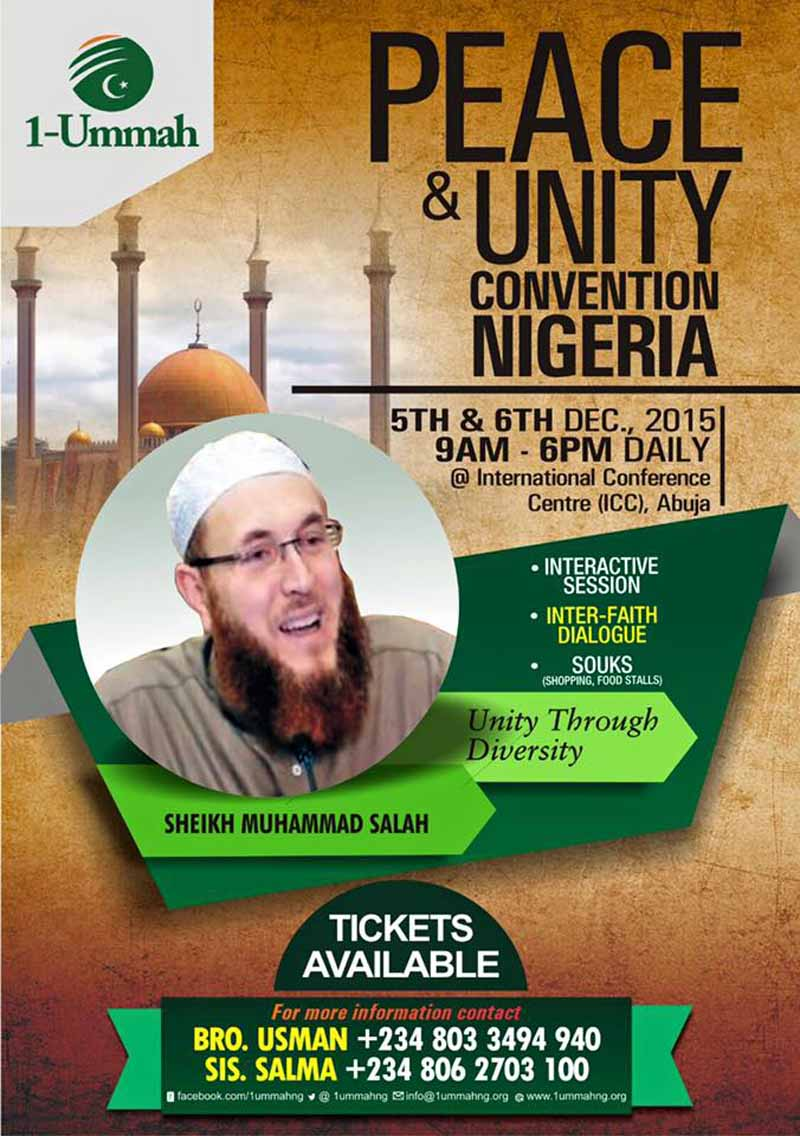 Peace and Unity Convention Nigeria